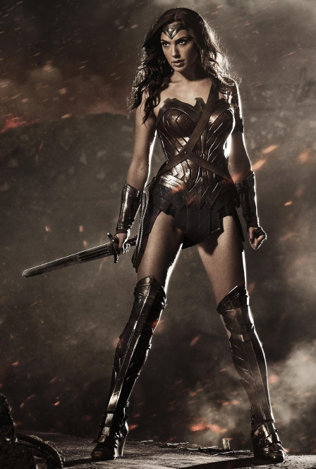 Gadot as Wonder Woman