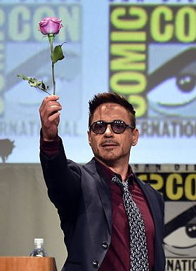 robert downey jr comic-con